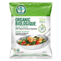 Organic Shrimp and Vegetable Sautee and Serve