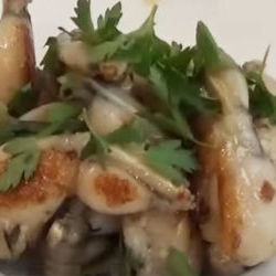 Frog Legs, Honey Garlic and Thyme