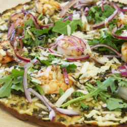Organic Black Tiger Shrimp Gluten Free Pizza